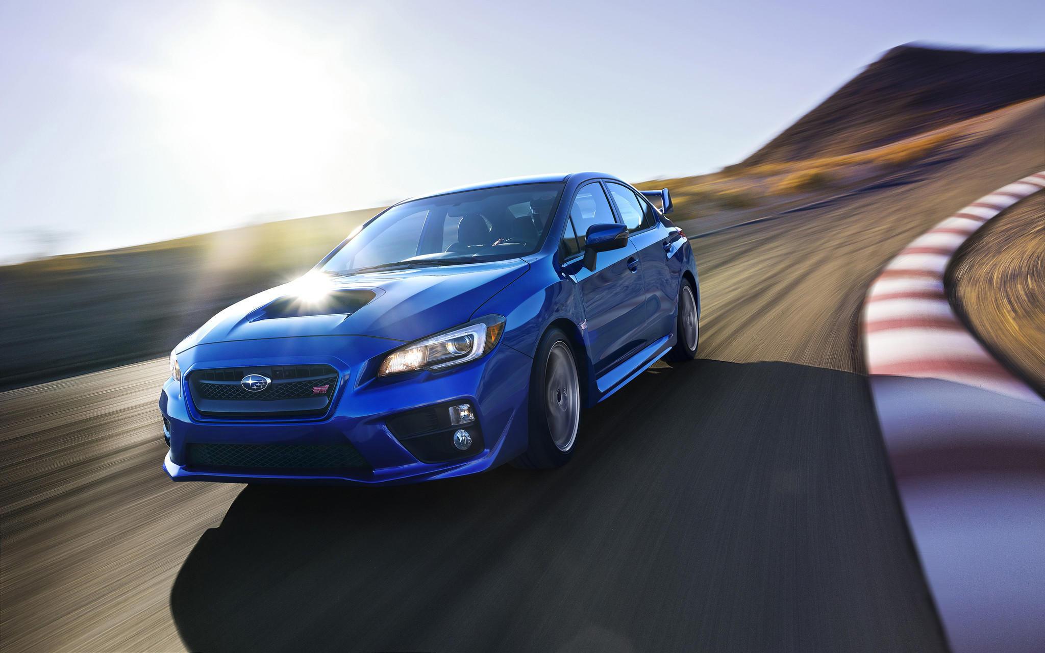 Car review Subaru refines 2015 WRX and STI latimes