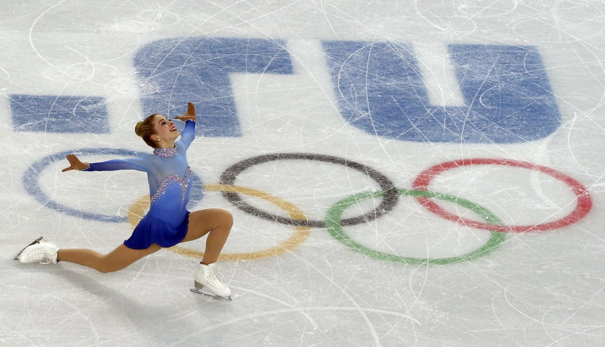 US Gracie Gold performs in the Women's Figure Skating Free Program at the Iceberg Skating Palace during the Sochi Winter Olympics on February 20, 2014.