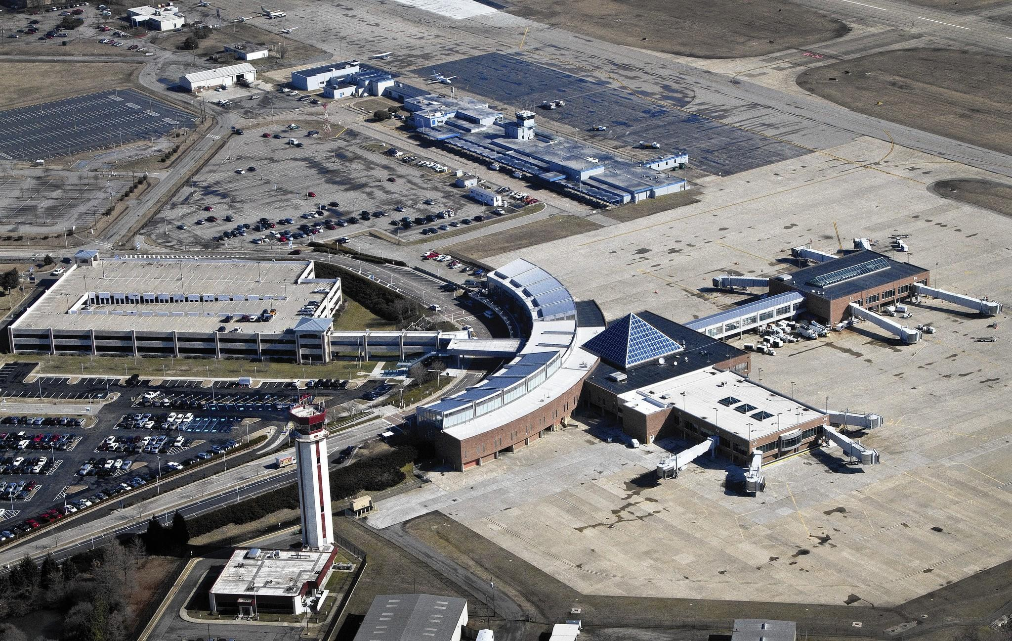 The Newport News-Williamsburg International Airport has seen a steep drop-off in passengers since Airtran Airways left in 2012.