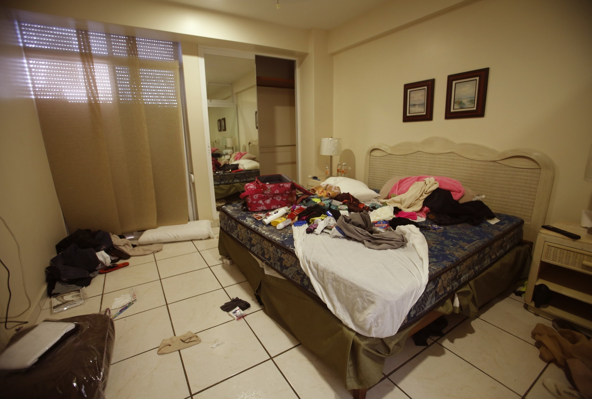 "Inside the condo where Joaquin ""El Chapo\"" Guzman was captured - Bedroom"
