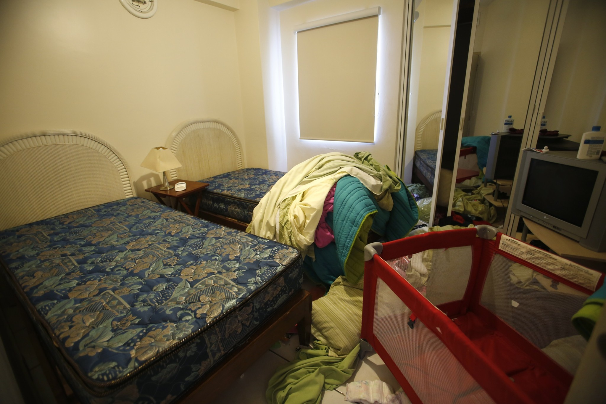 "Inside the condo where Joaquin ""El Chapo\"" Guzman was captured - A bedroom"