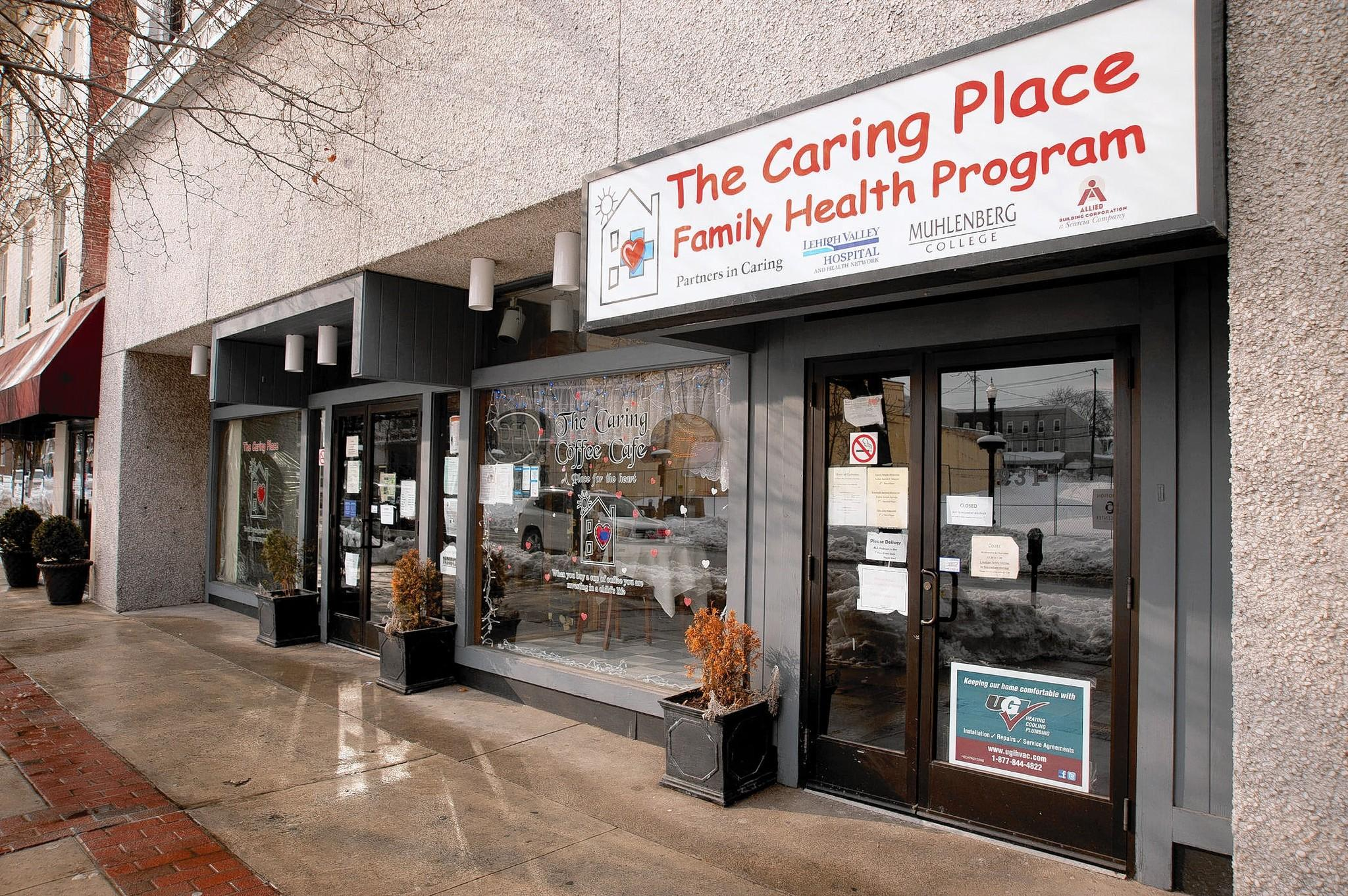 The Caring Place 931 Hamilton Blvd in Allentown.