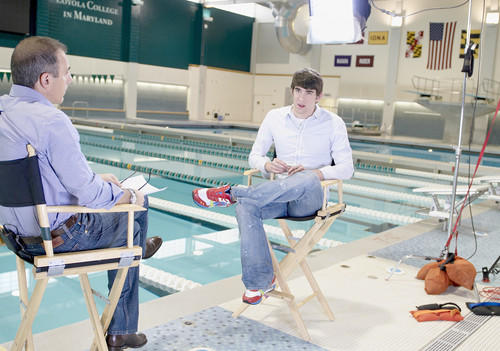 Michael Phelps, Matt Lauer