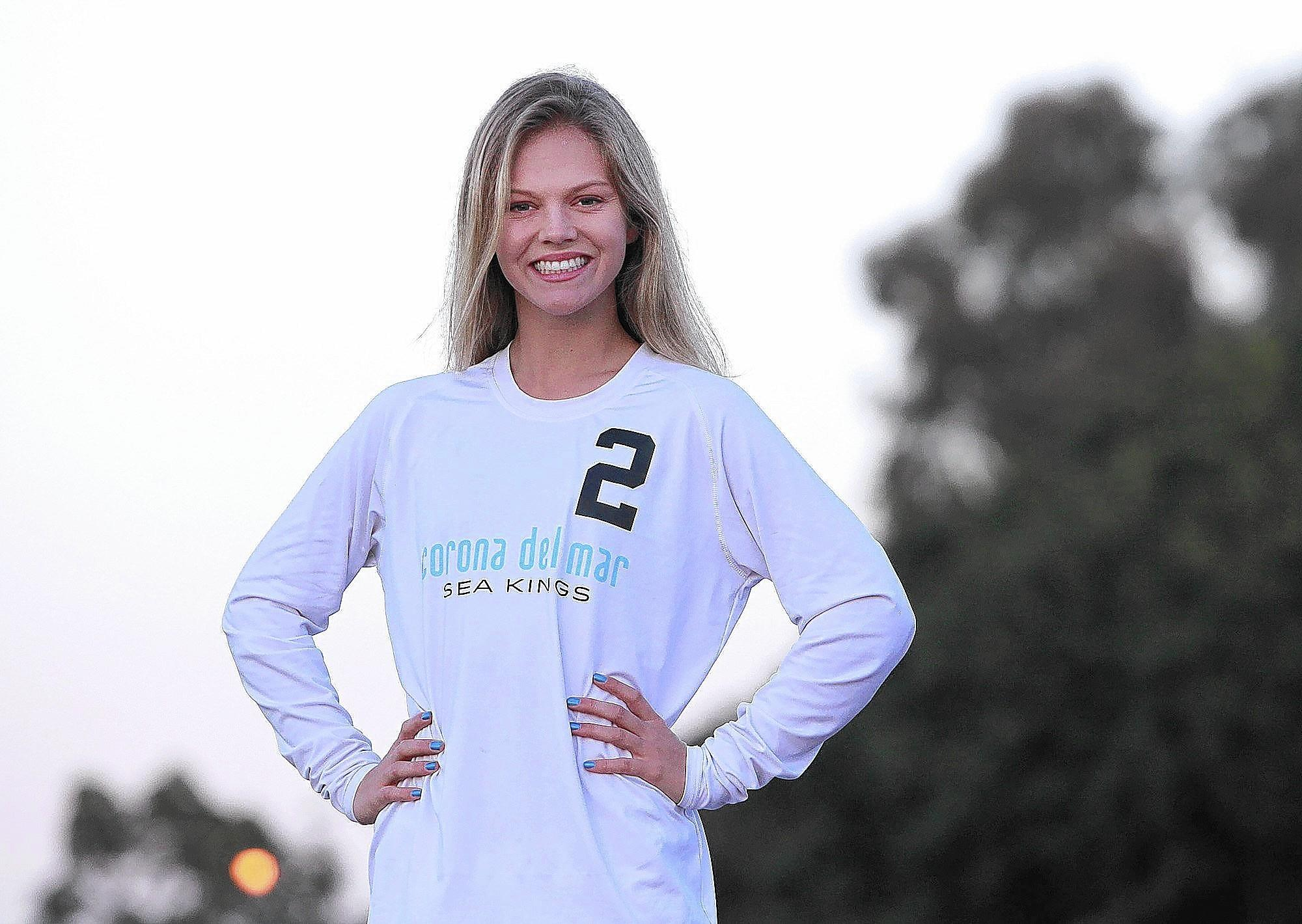 Corona del Mar High's Miranda Stiver is the Daily Pilot High School Athlete of the Week.