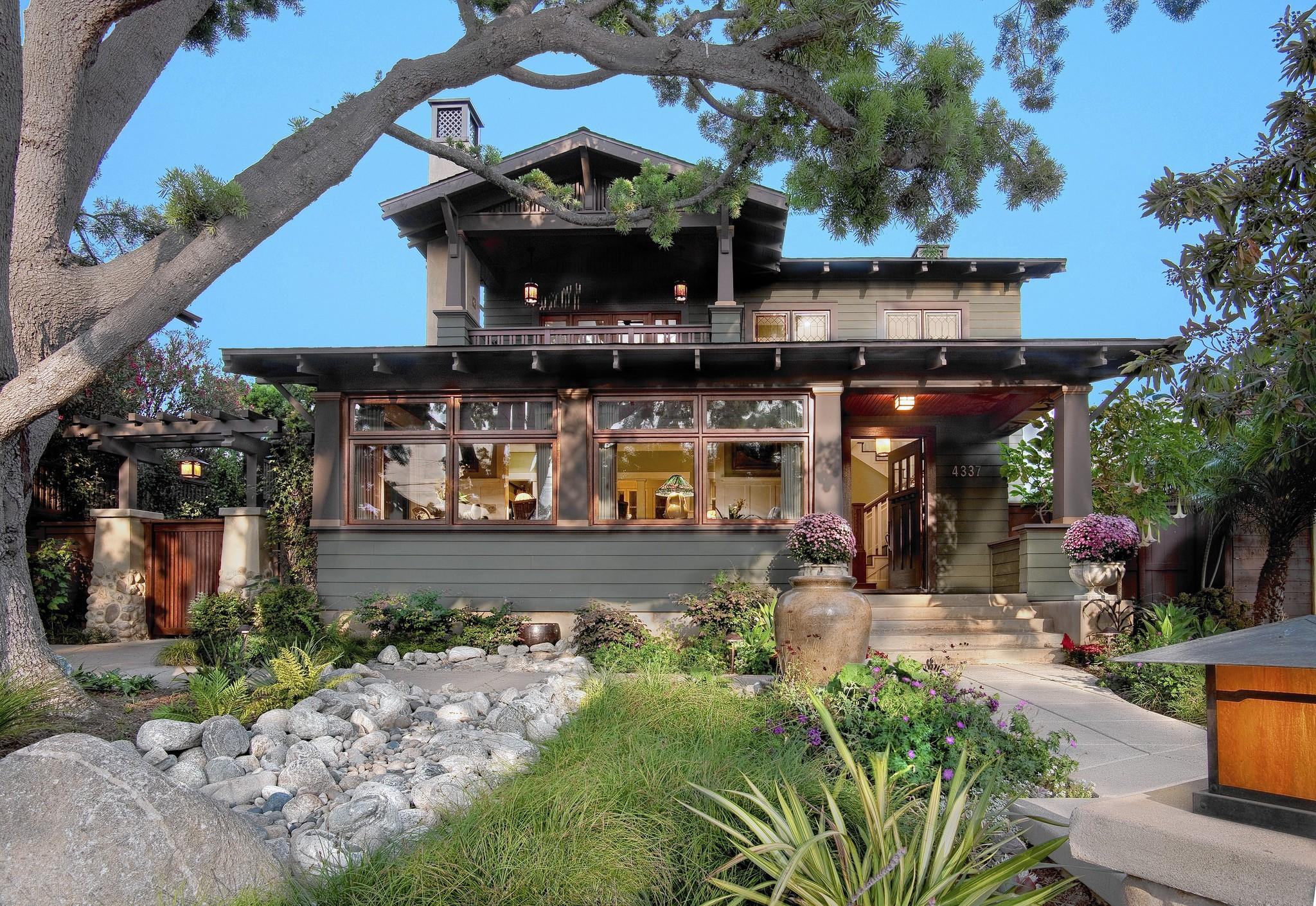 Chosen as Home of the Year in the BALA competition was an American Craftsman in La Jolla, Calif., by IS Architecture that's intended to allow the owners to age in place easily.