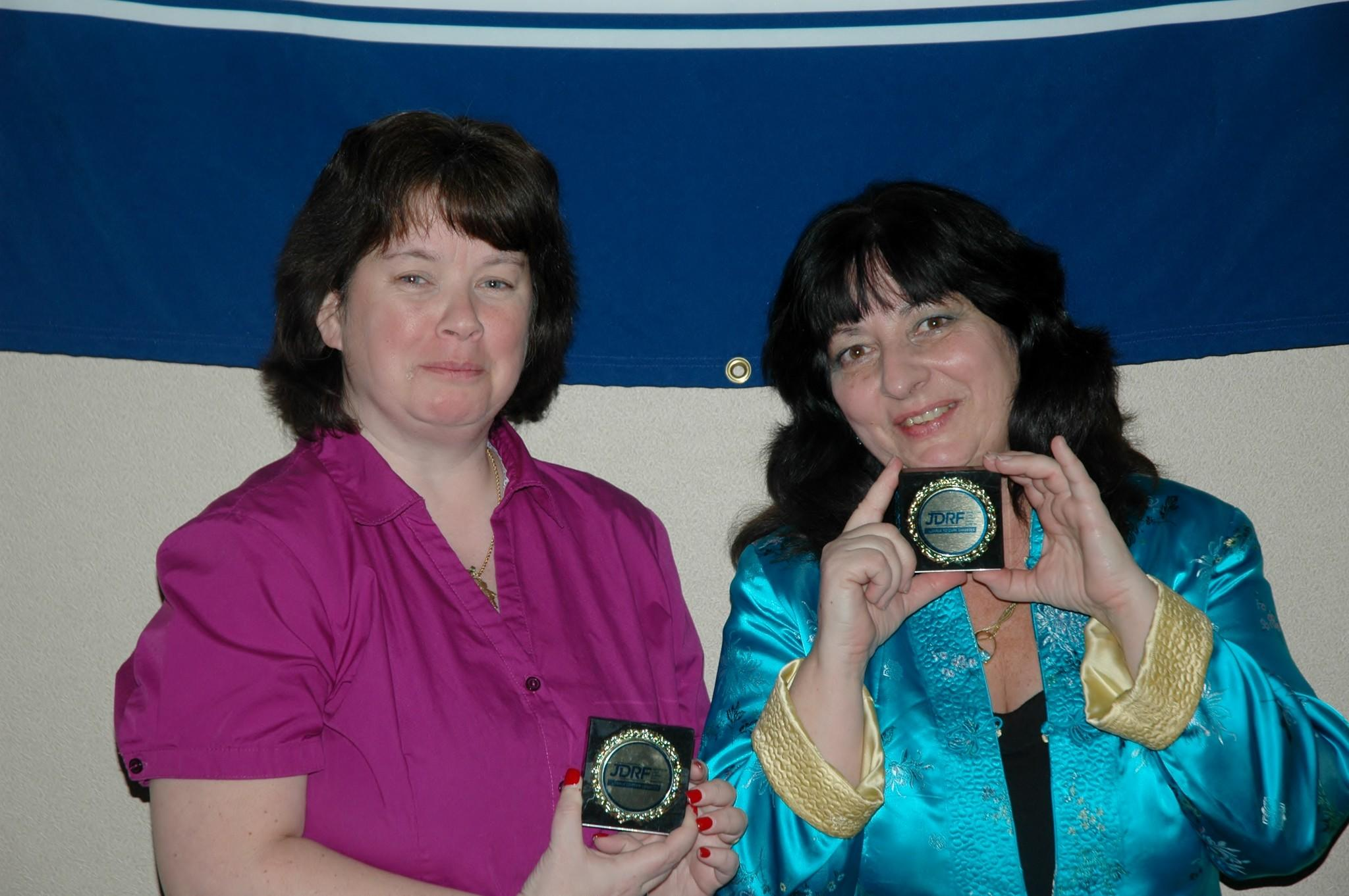 Outstanding JDRF Volunteers.