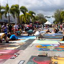 Lake Worth Street Painting Festival Pictures