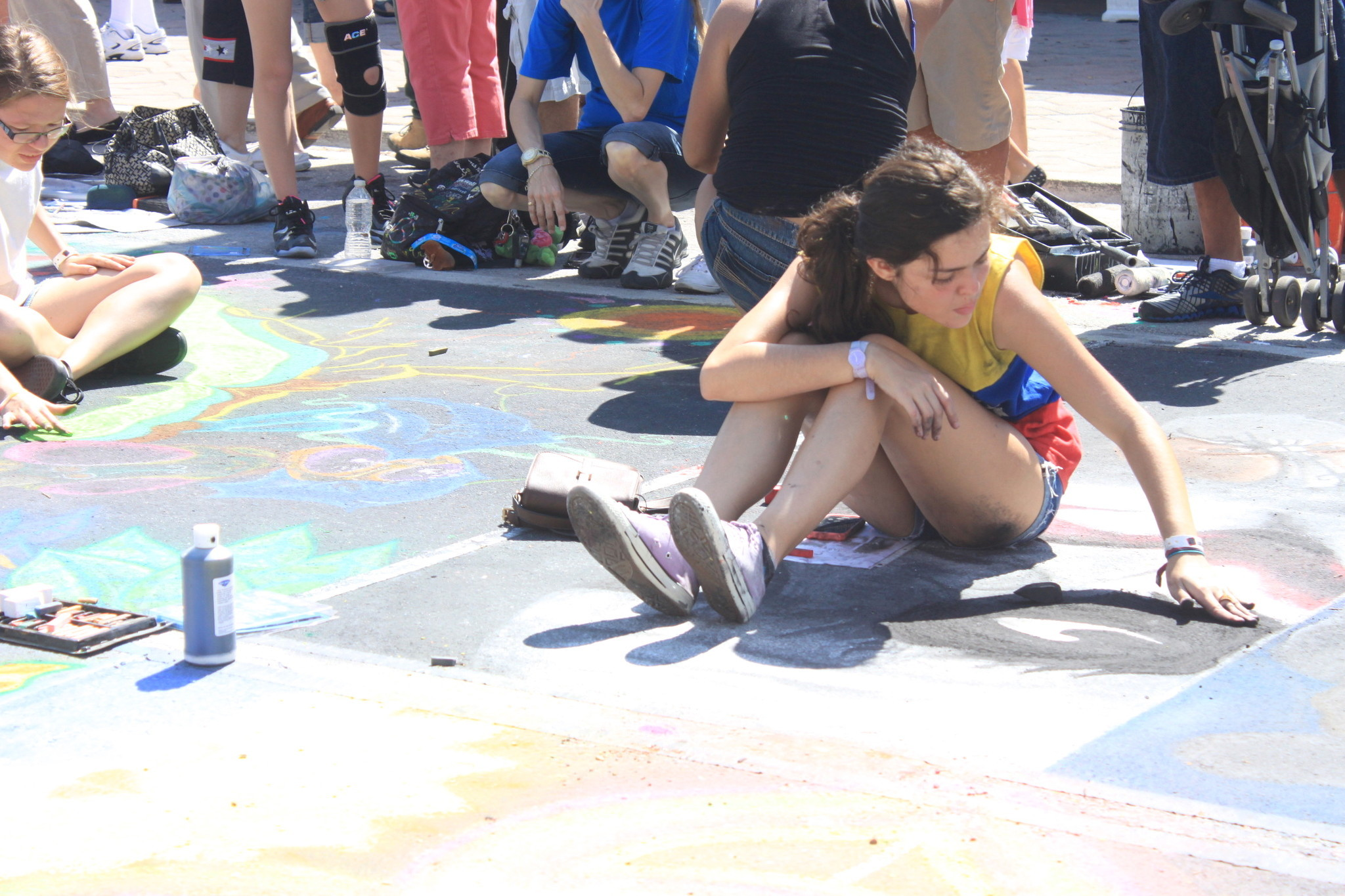 Lake Worth Street Painting Festival - Lake Worth Street Painting Festival Pictures