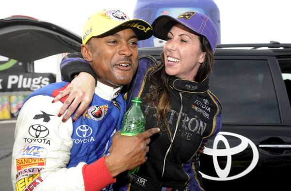 Dejoria After She Won Her First Nhra Funny Car Title Sunday