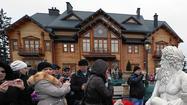 Ukrainians peek into Yanukovich's opulent home and look ahead