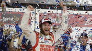 Dale Earnhardt Jr. wins rain-delayed Daytona 500