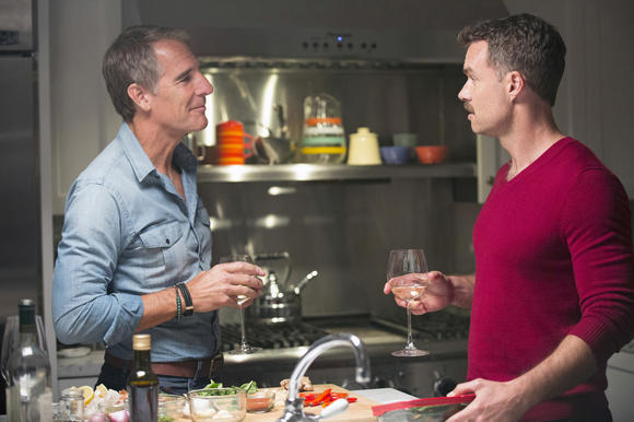 L-R: Scott Bakula, Murray Bartlett.