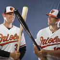 Matt Wieters and Chris Davis