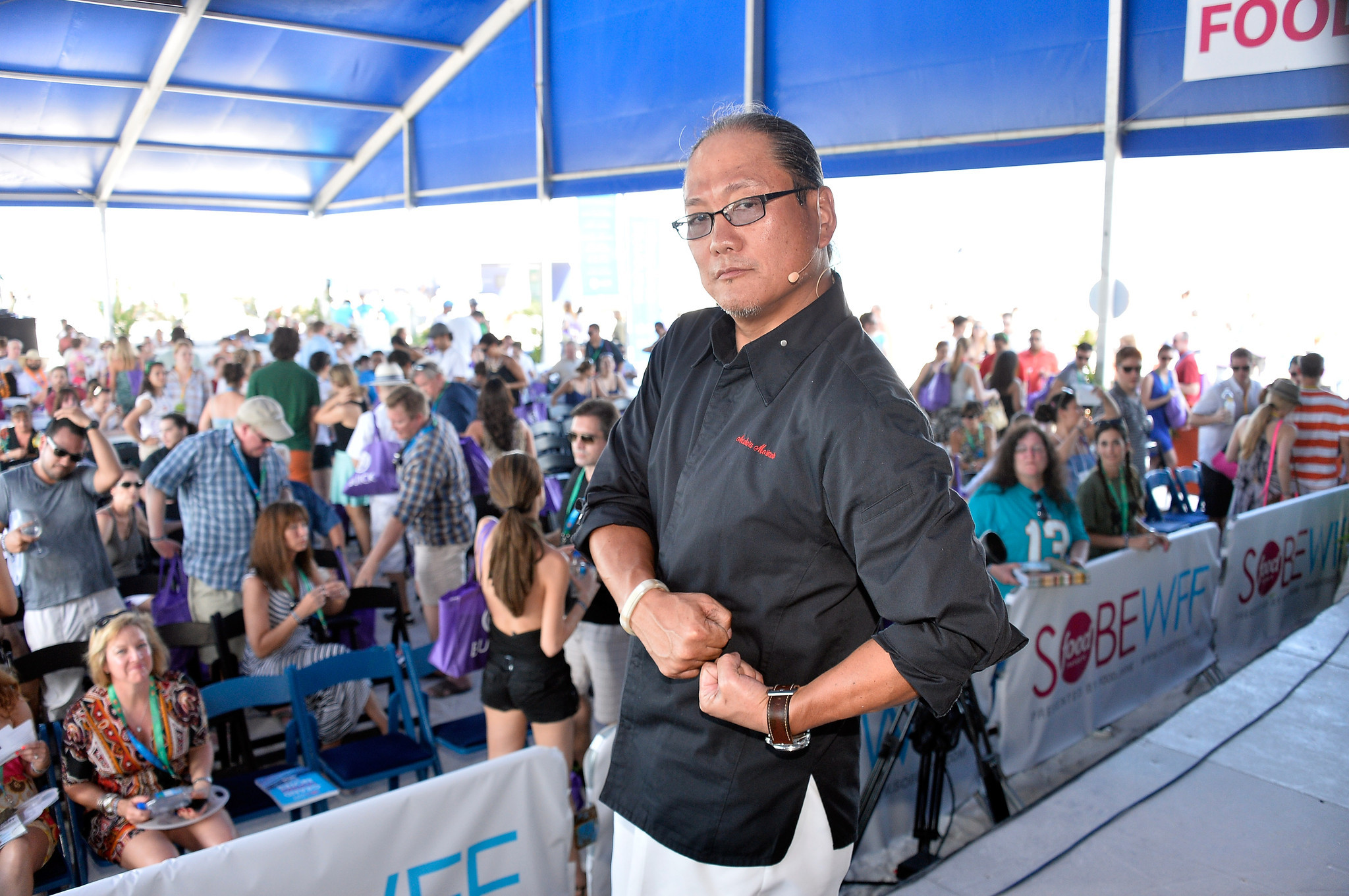 Celebrity-spotting at the South Beach Wine & Food Festival - KitchenAid® Culinary Demonstrations - Food Network South Beach Wine & Food Festival