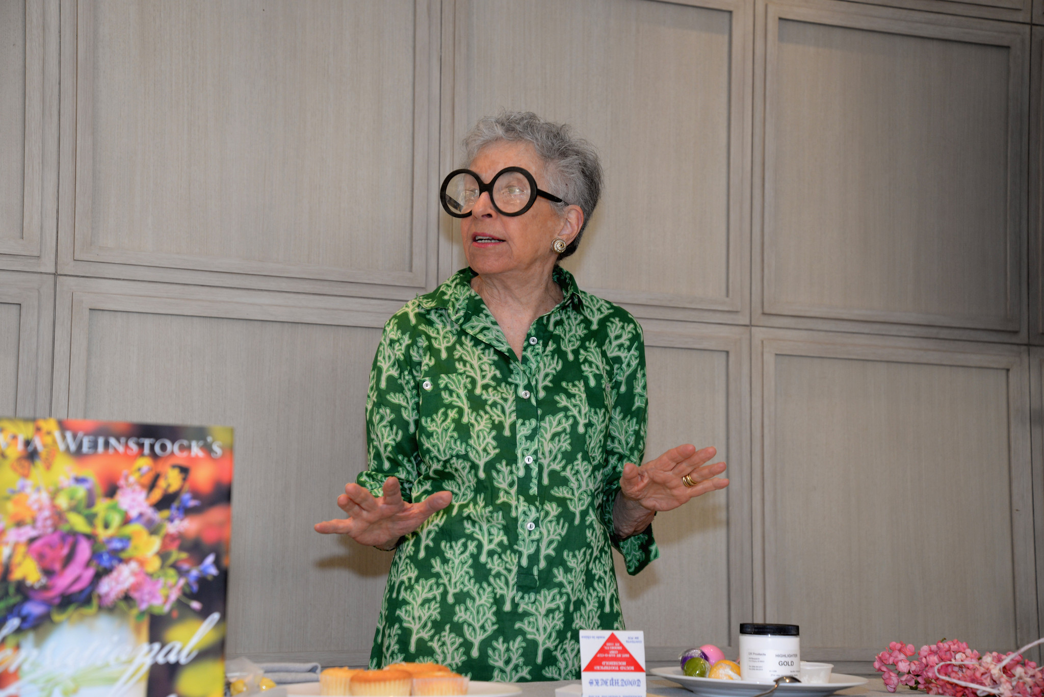 Celebrity-spotting at the South Beach Wine & Food Festival - The Art Of Cake-Decorating: A Master Class With Sylvia Weinstock - Food Network South Beach Wine & Food Festival