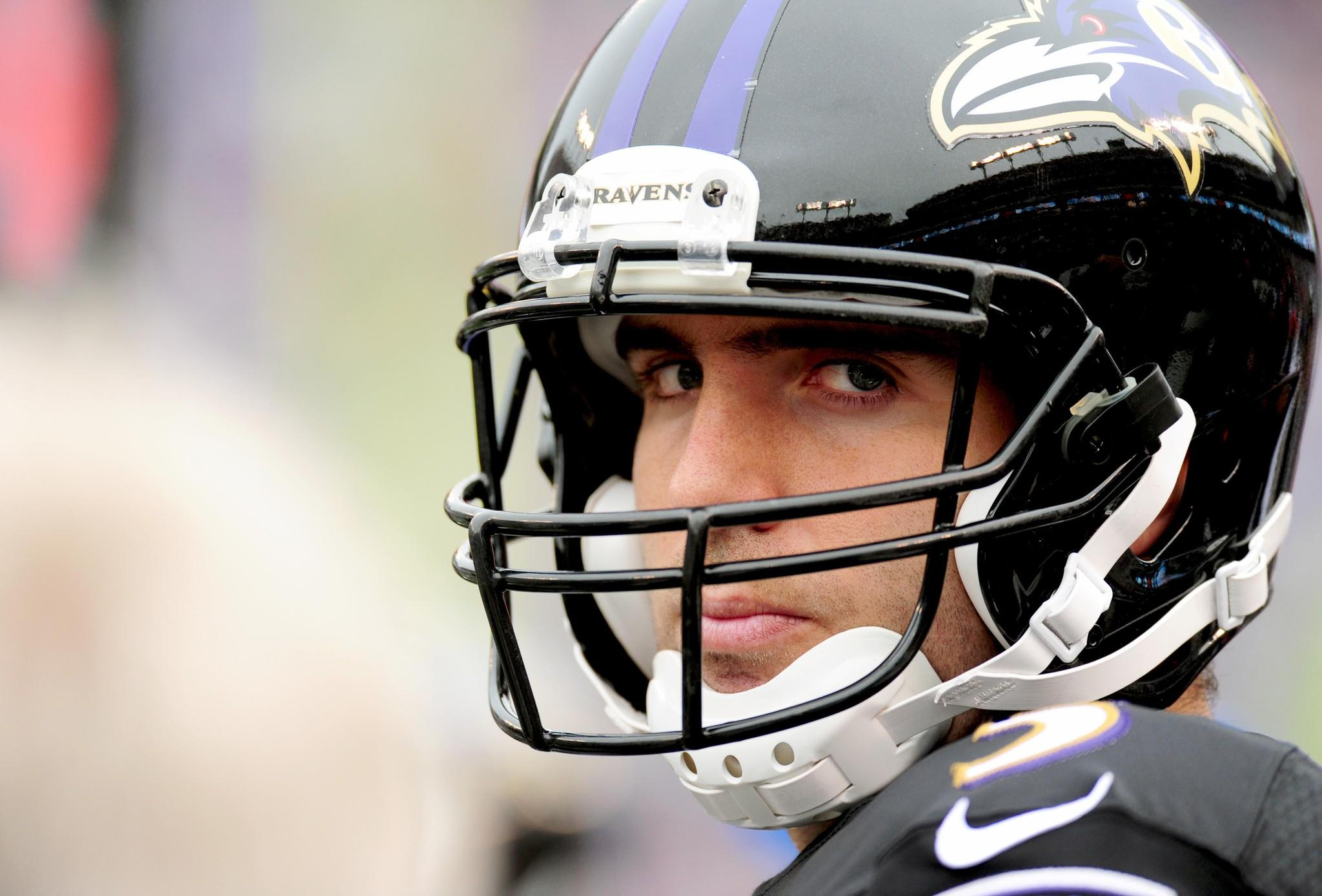 Only five NFL quarterbacks had a worse accuracy percentage than Joe Flacco in 2013.