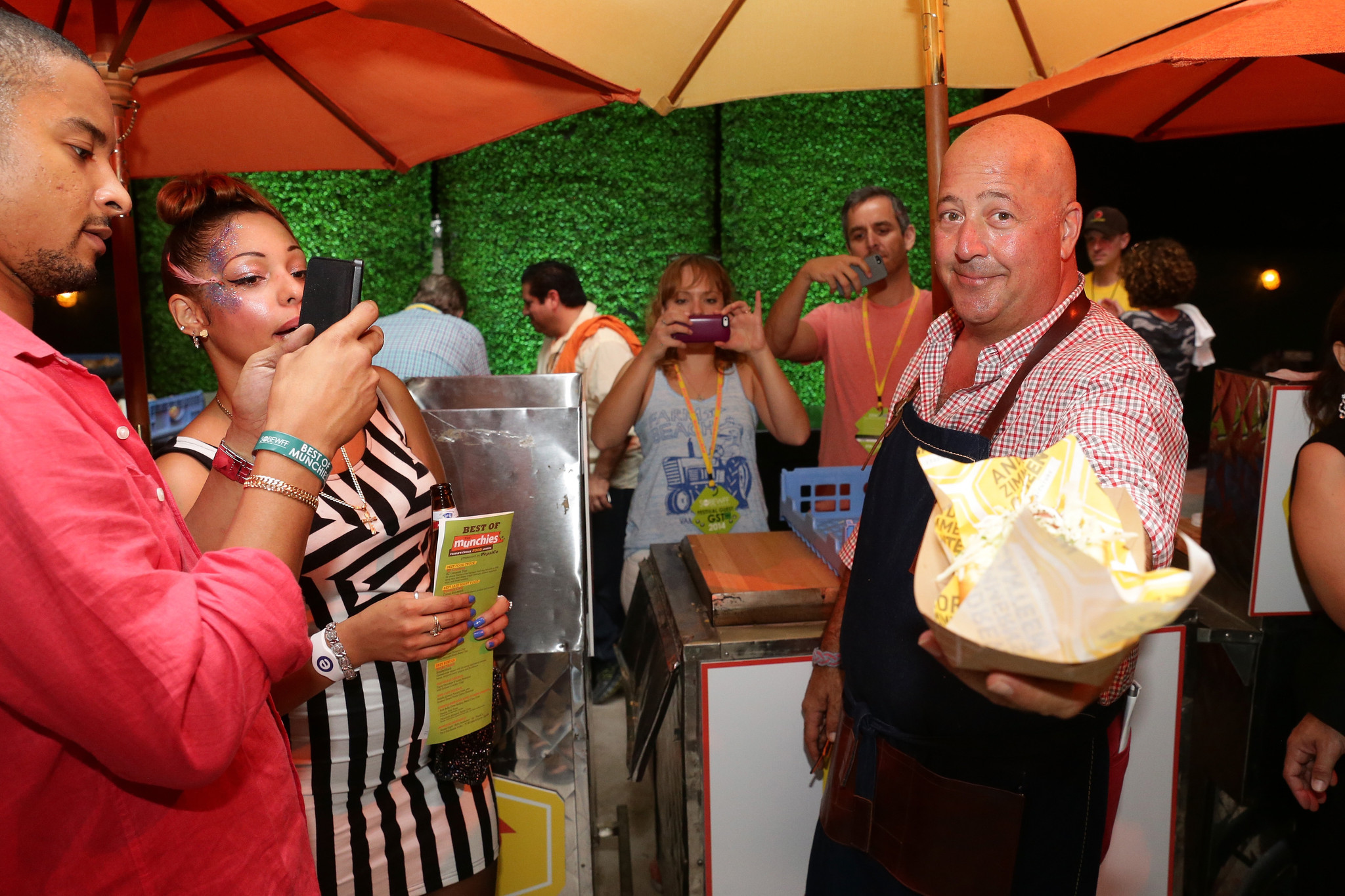 Celebrity-spotting at the South Beach Wine & Food Festival - Best of The Munchies: People