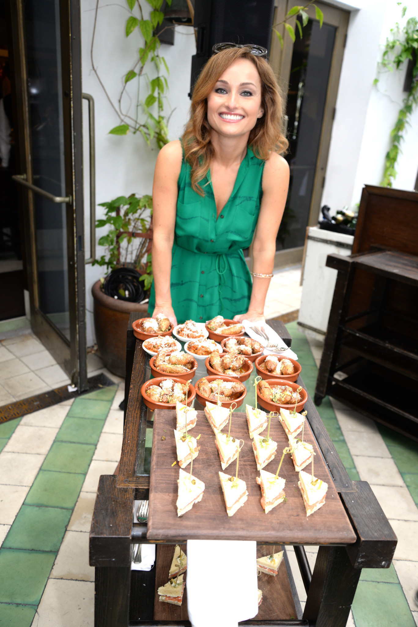 Celebrity-spotting at the South Beach Wine & Food Festival - Ciao Chow! An Italian Dim Sum-Style Champagne Brunch With Giada De Laurentiis - Food Network South Beach Wine & Food Festival