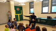 "Chicago Bear Martellus Bennett's Library Visit ""More than We Imagined!"""