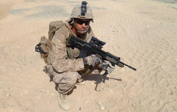 Nick Francona, who served as the commander of a Marine Corps brigades' scout-sniper platoon while in Afghanistan in 2011, will be in charge of video operations for the Angels this season.