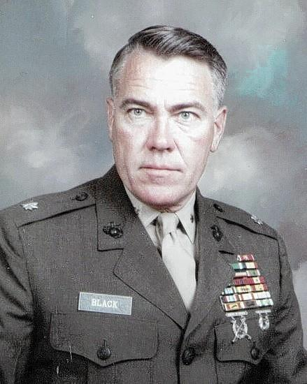 Retired Marine Col. Jerry Black Sr. of DeBary