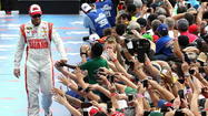 Dale Earnhardt Jr. enjoys the ride with father's memories