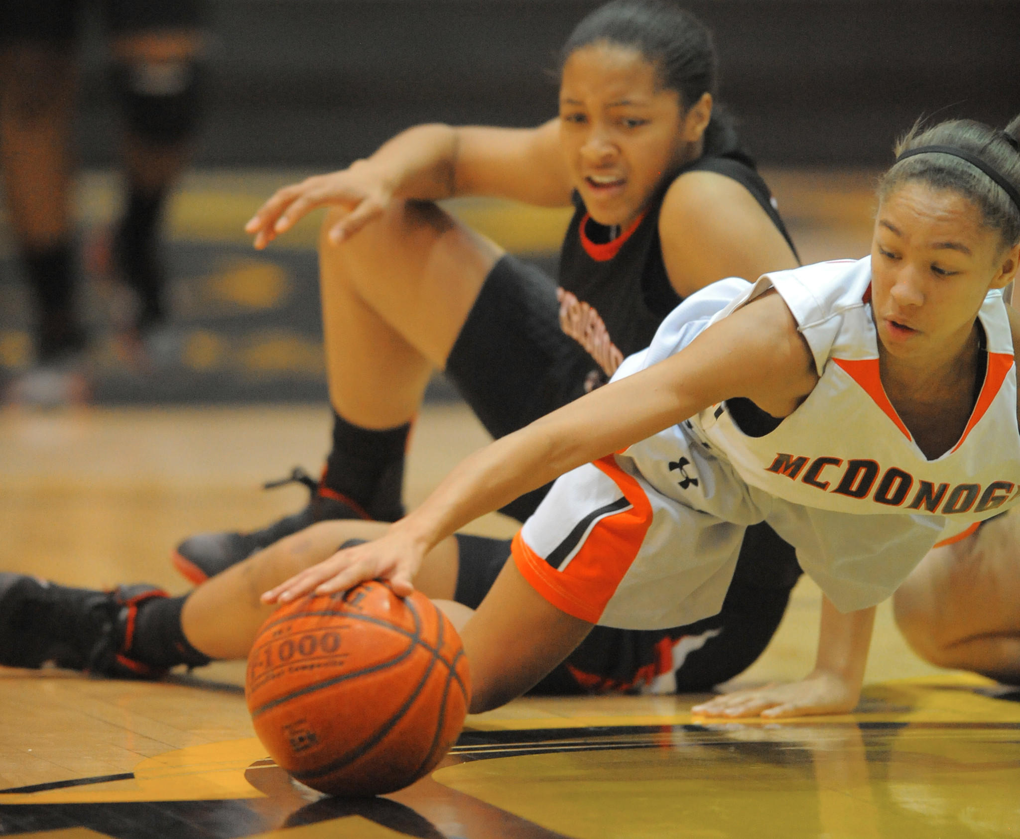 McDonogh's Danielle Edwards is among the All-IAAM girls basketball selections for this season.