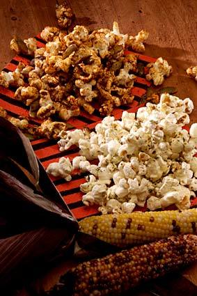 <b>LIGHTER SIDE</b>: Popcorn with dried chipotle pepper and garlic powder or minced rosemary and Parmigiano is a healthy treat.