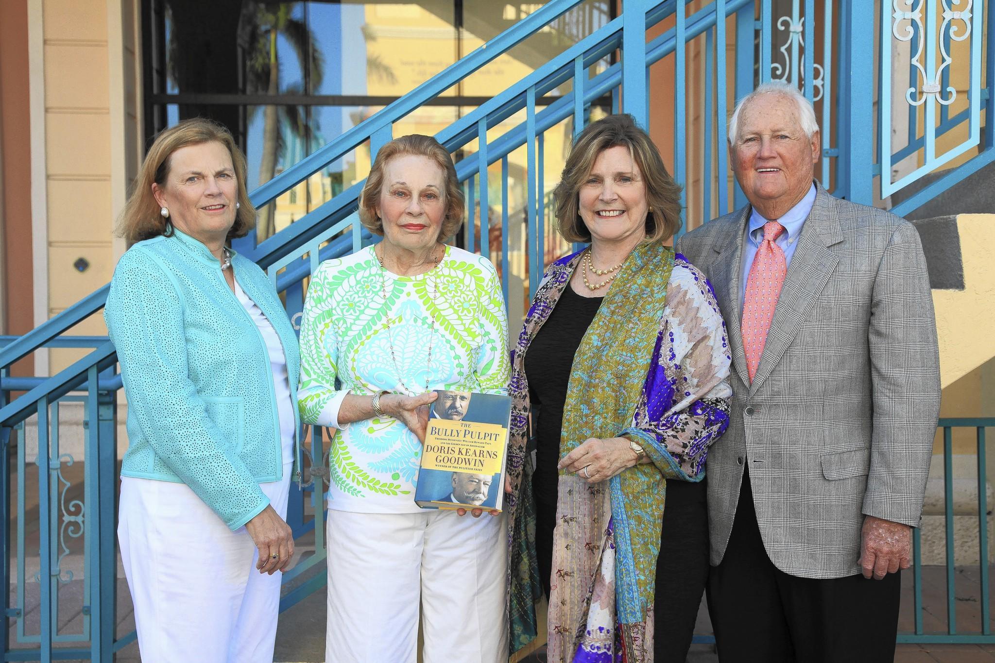 Cynthia Brown, left, Janice Middlebrook, Wendy Larsen and Bob Long