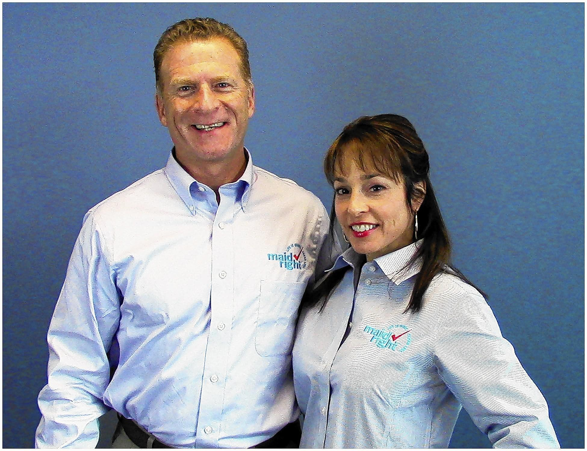 Coral Springs couple Bob Cole and Meridee Cole are now operating a Maid Right residential cleaning franchise that will serve South Florida.