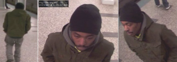 The Chicago Police Department released images Tuesday afternoon of the alleged robber.