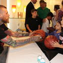 Chris Andersen, Alexandra Bentes and Andre Bentes