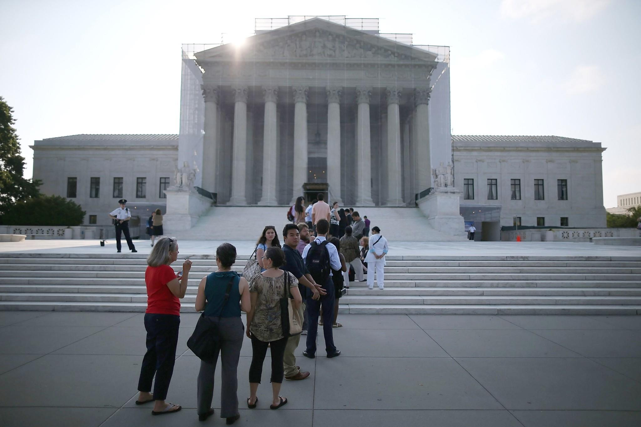 In their 65-page briefing filed Monday to the Supreme Court, broadcasters -- including ABC, CBS, NBCUniversal, Fox and Los Angeles Times parent Tribune Co. -- cited work critical of a lower court ruling favoring Aereo by Jane Ginsburg, a professor at Columbia University's School of Law and daughter of Justice Ruth Bader Ginsburg.
