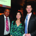 "Perry Ecton, left, Maria Alonso and Kenneth Brighton came out to support Bank of America's annual ""Broward County Grantee Celebration"" at the Broward Center for the Performing Arts."