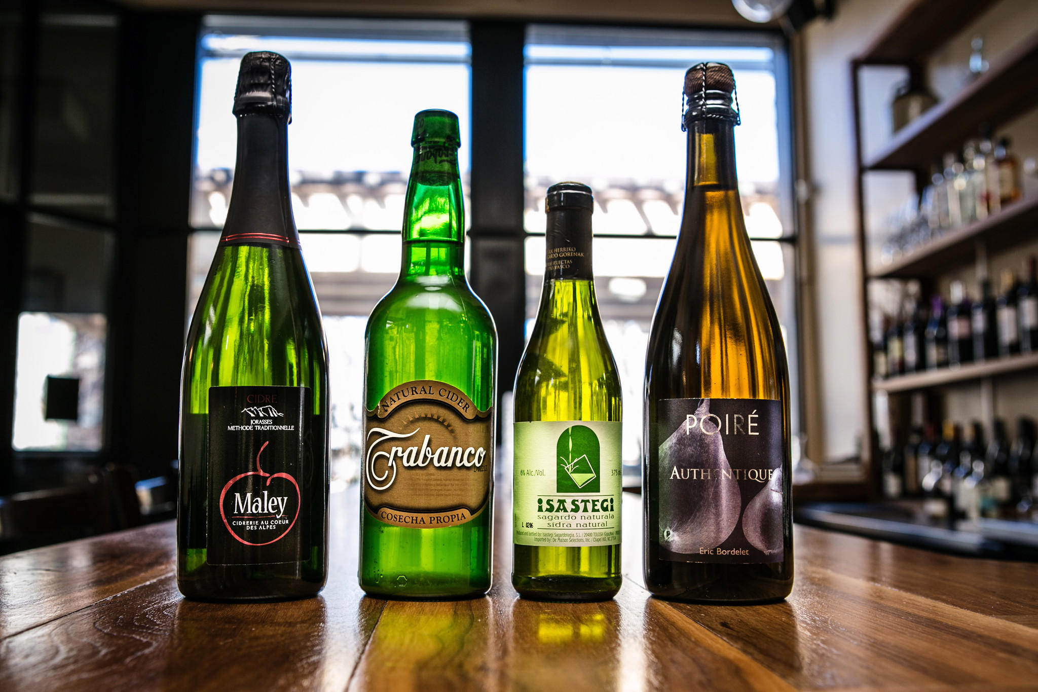 Four European ciders available at Vera