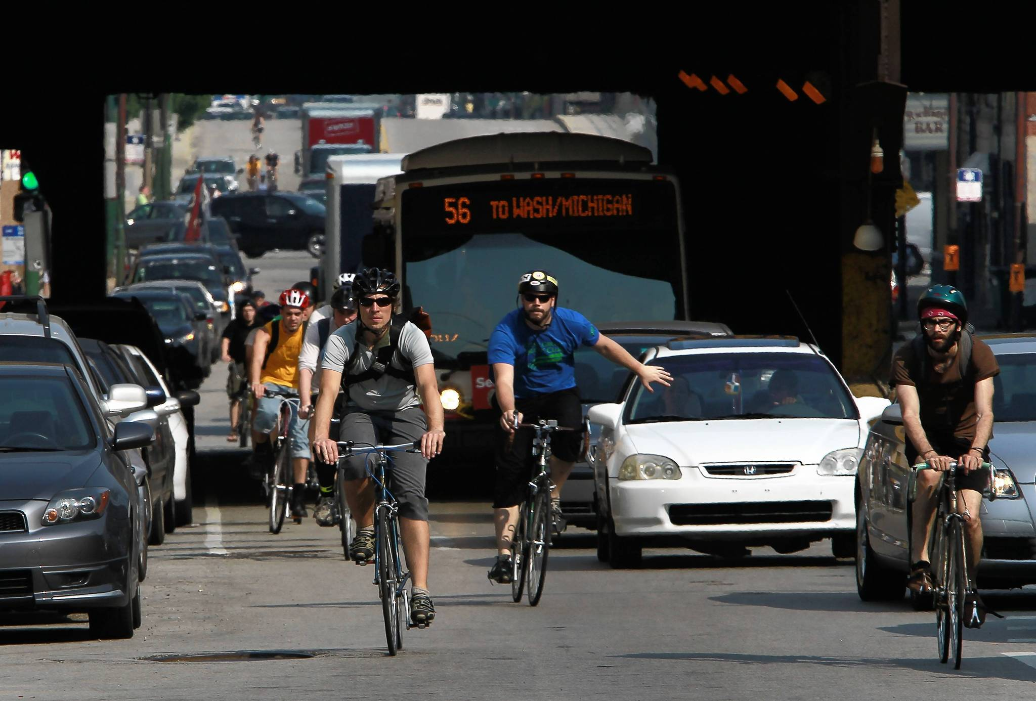 Cook County is creating a transportation plan over the next 18 months, setting priorities for projects from roads to bike paths.
