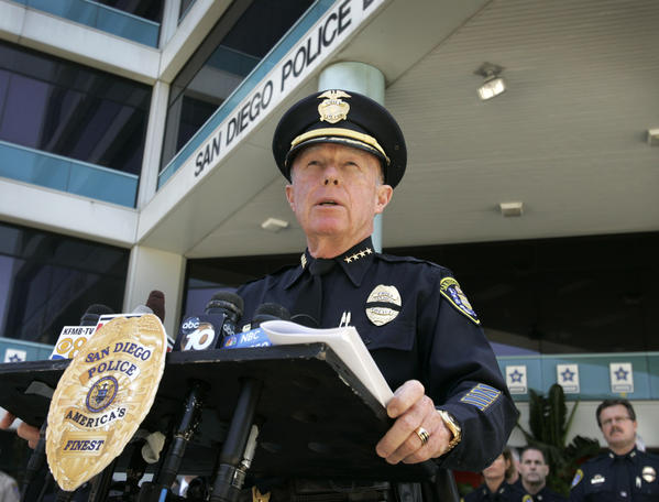 San Diego Police Chief William Lansdowne