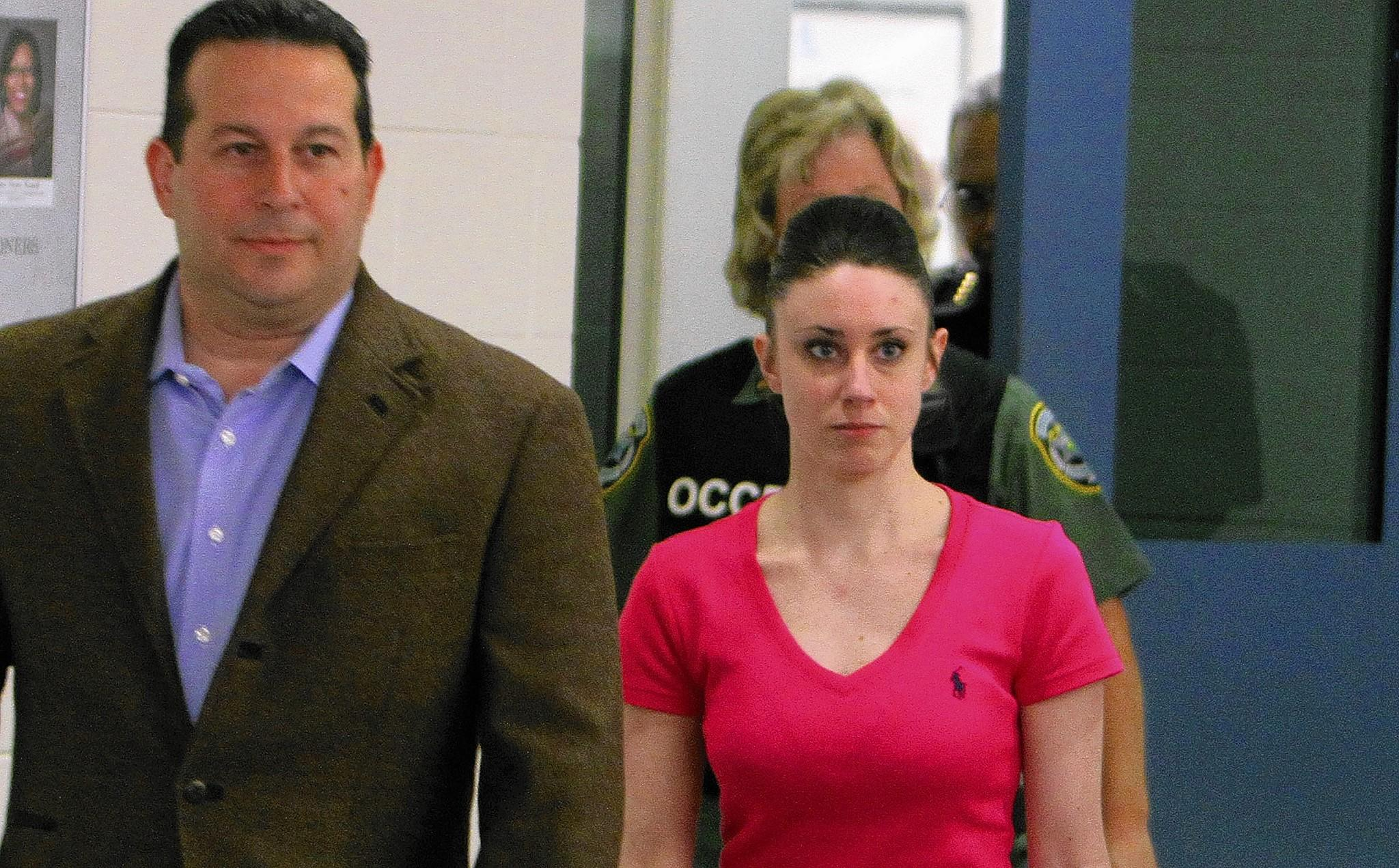 Casey Anthony, 25, is released Sunday, July 17, 2011 from the Orange County Corrections Facility after a jury found her not guilty of the 2008 death of her 2-year-old daughter, Caylee Marie Anthony.