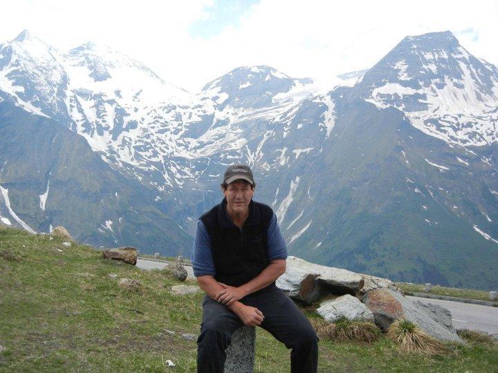 Connecticut Historian and Spy Author Mark Allen Baker in Austria.