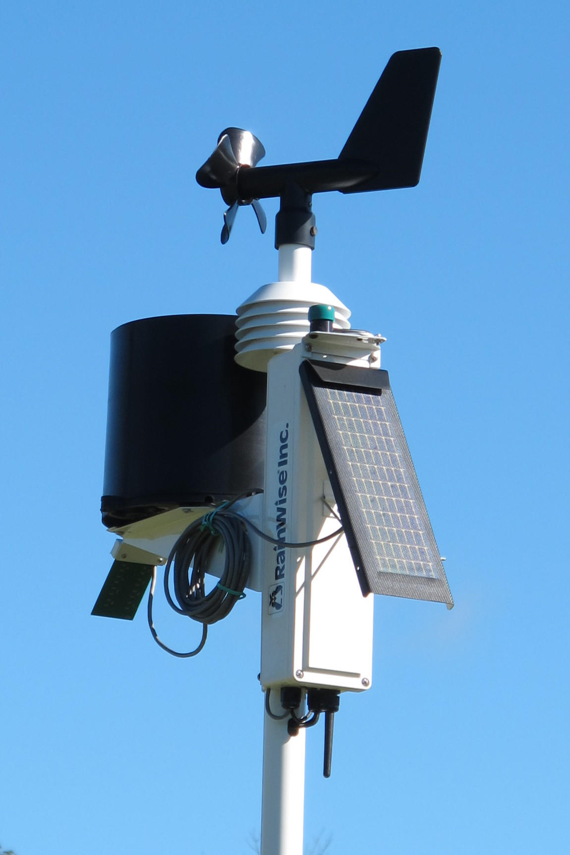 Small but sophisticated weather stations upload back-forty pest forecasts on your desktop to keep you apprised of ag or turf pests headed your way.