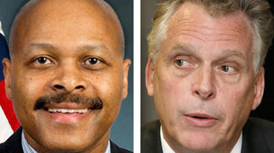 A U.S. House of Representatives Committee will hold a hearing Wednesday morning on allegations that Maurice Jones, left, a former deputy secretary at the U.S. Department of Housing and Urban Development and now Gov. Terry McAuliffe's secretary of commerce, violated federal lobbying restrictions at HUD.