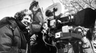 On set of 'Groundhog Day'