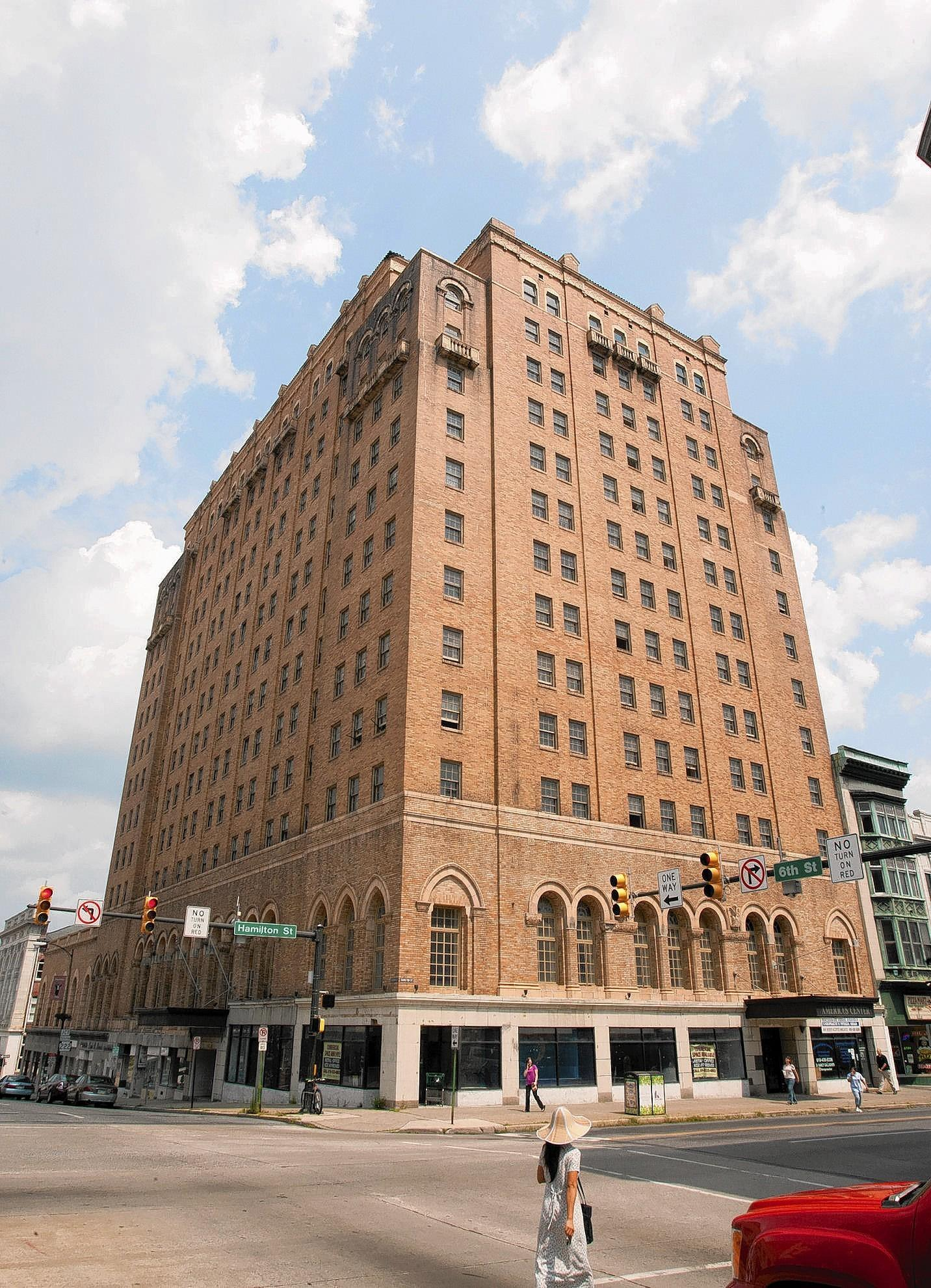 The long-vacant Americus Center Hotel will get another chance to rise from the ashes of Allentown's deteriorated downtown, but only if its owner agrees to recapture the days when its marble floors and crystal chandeliers made it one of the region's swankiest hotels.