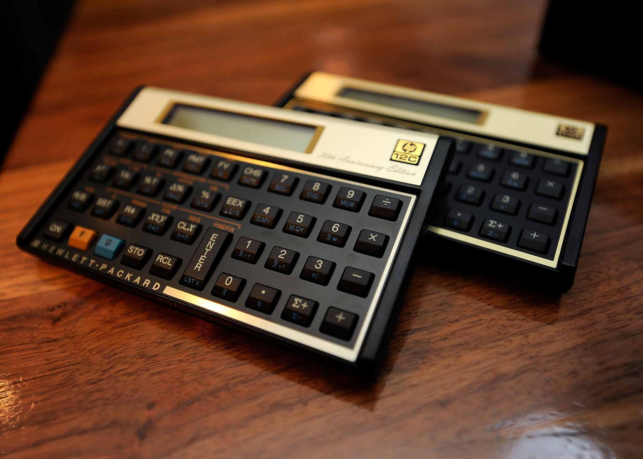 HP's 30th Anniversary edition of the 12c Calculator.