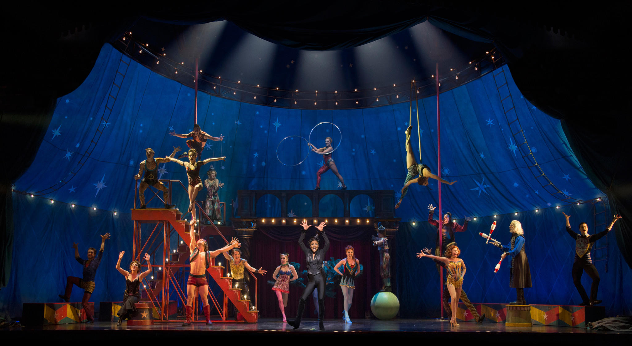 The new year will start with Diane Paulus celebrated circus-themed revival of Pippin, which won the Tony Award for best revival last year and is still playing on Broadway. The show runs Jan. 6 to 11.""