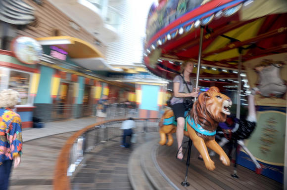 Oasis of the Seas Carousel