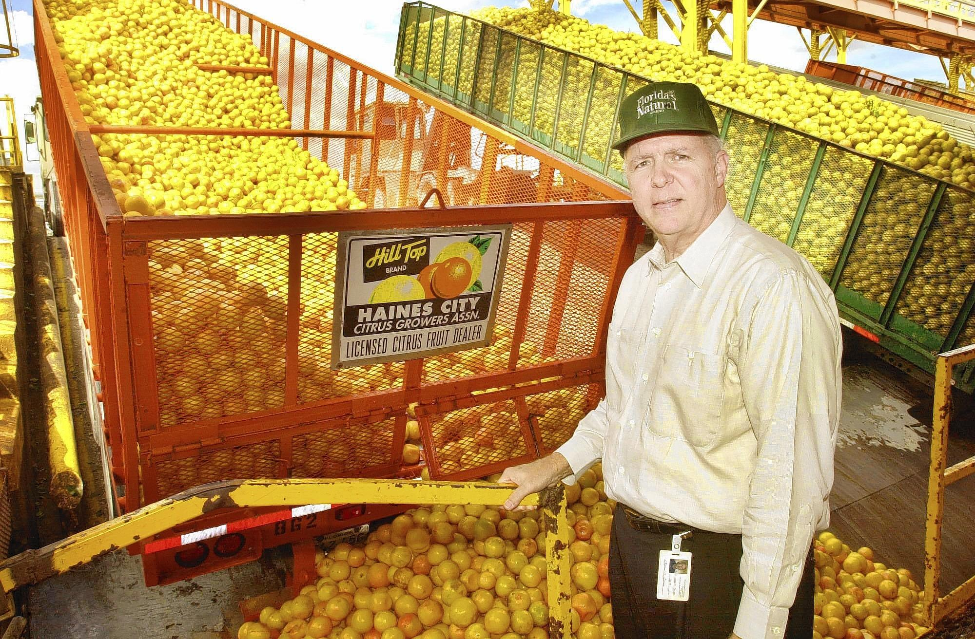 Stephen M. Caruso, chief executive officer of Citrus World and Florida's Natural.
