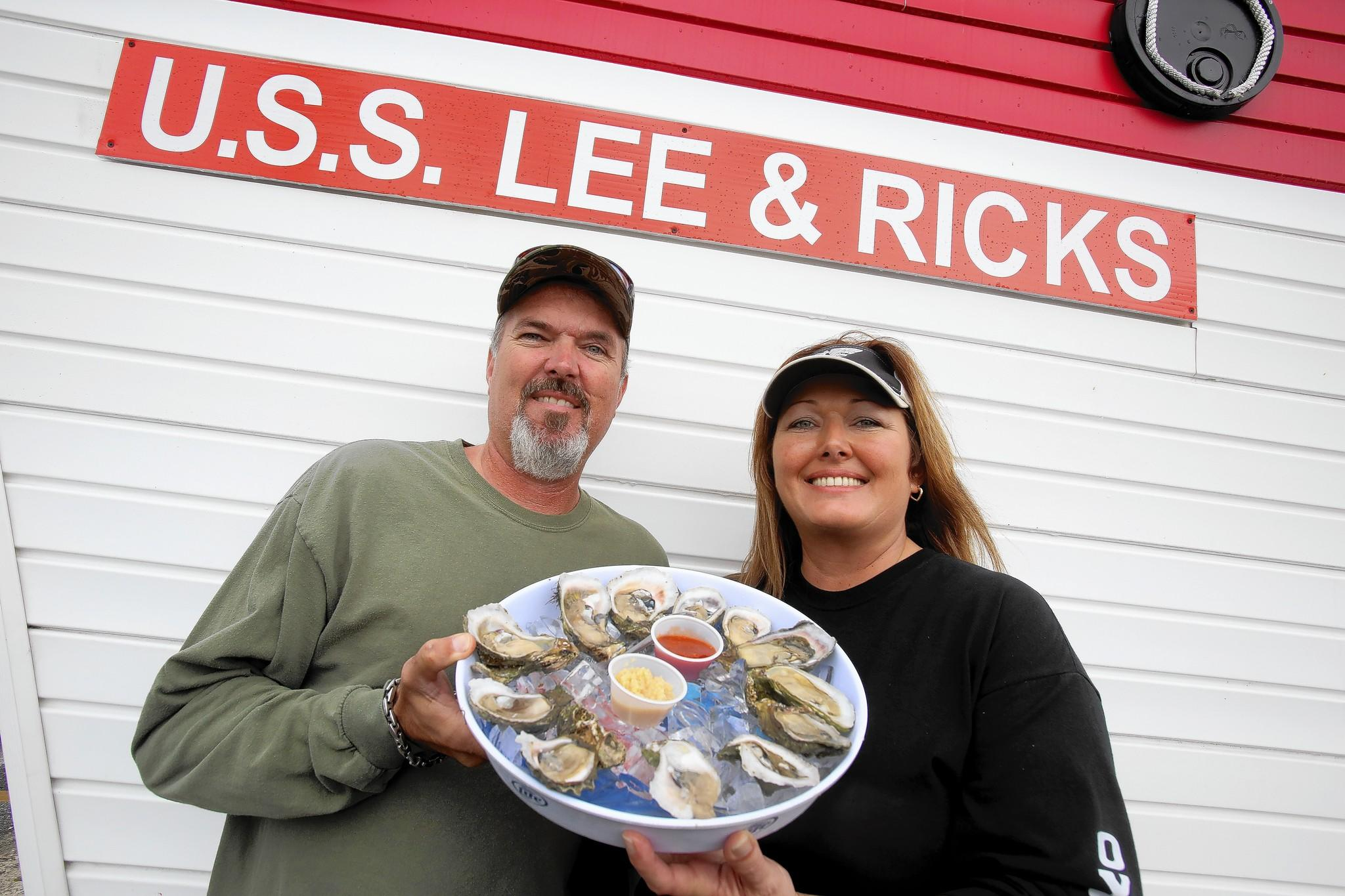 Gene Richter and Trish Blunt carry on the family tradition at Lee & Rick's.