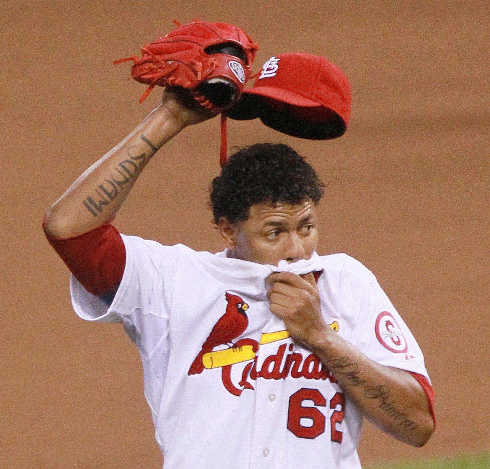 St. Louis Cardinals pitcher Carlos Martinez is in the middle of a Twitter firestorm.