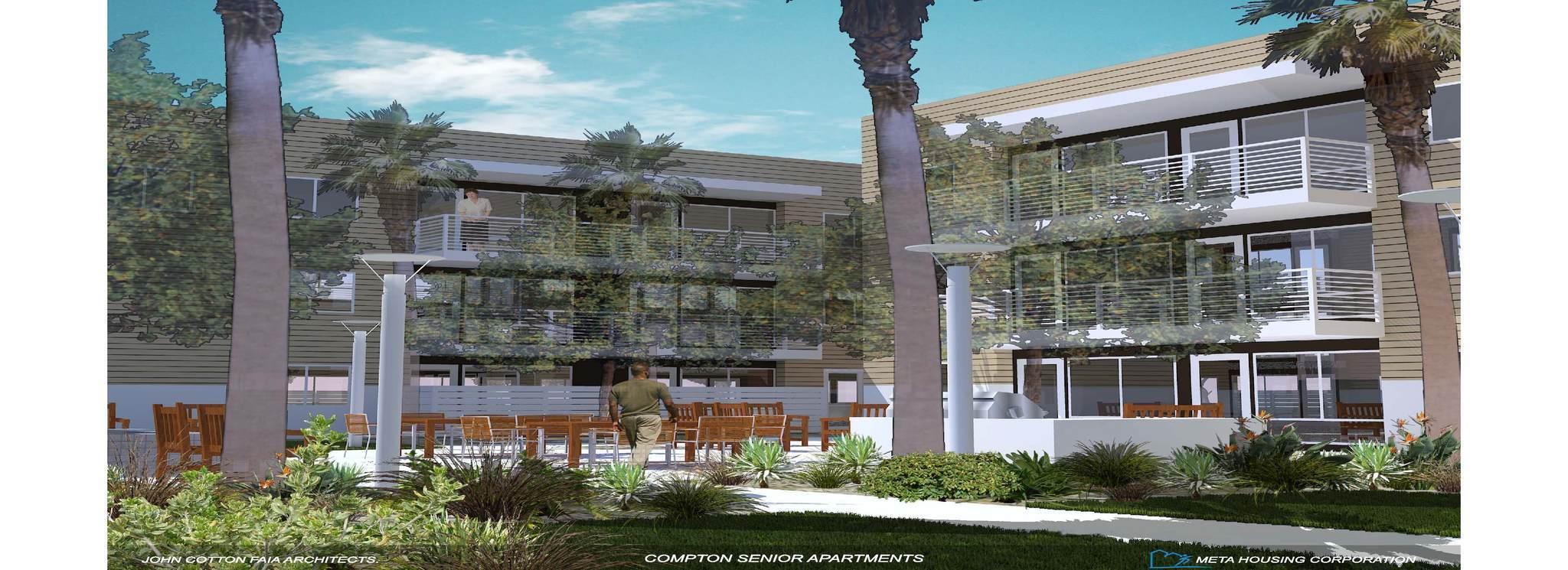 Senior Housing Complex Being Built Near Compton Transit Stops
